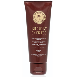gel bronze express teint texture non grasse tube 75ml. Black Bedroom Furniture Sets. Home Design Ideas